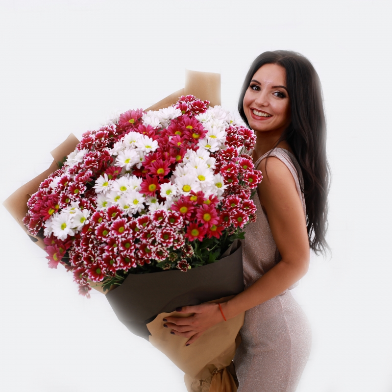 Букет ирисов, доставка цветов харькову недорого