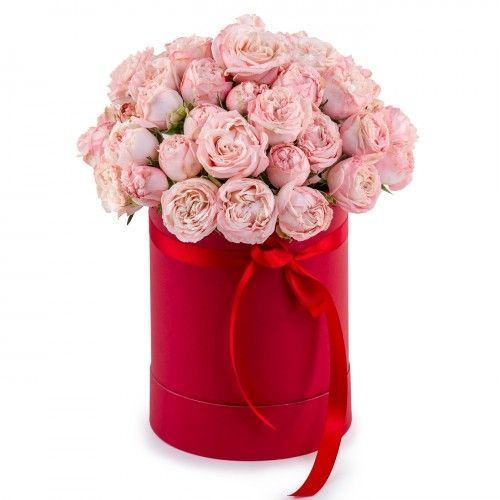 Flowers-Box 13 roses Lady Bambastic